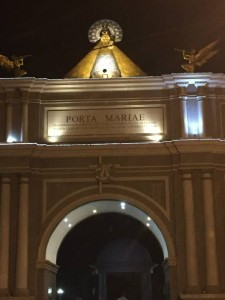 aga city, where to go in naga city, places to visit in naga city, porta mariae