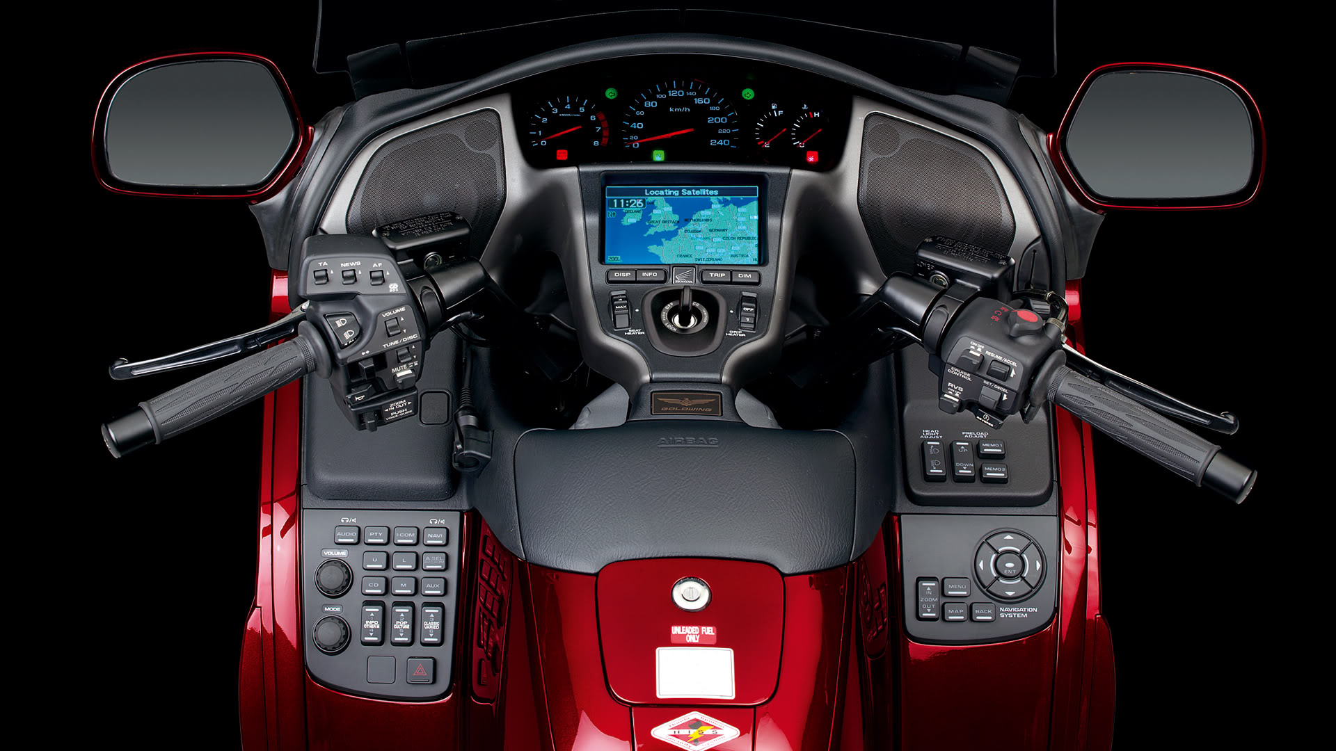 Honda Goldwing Dashboard