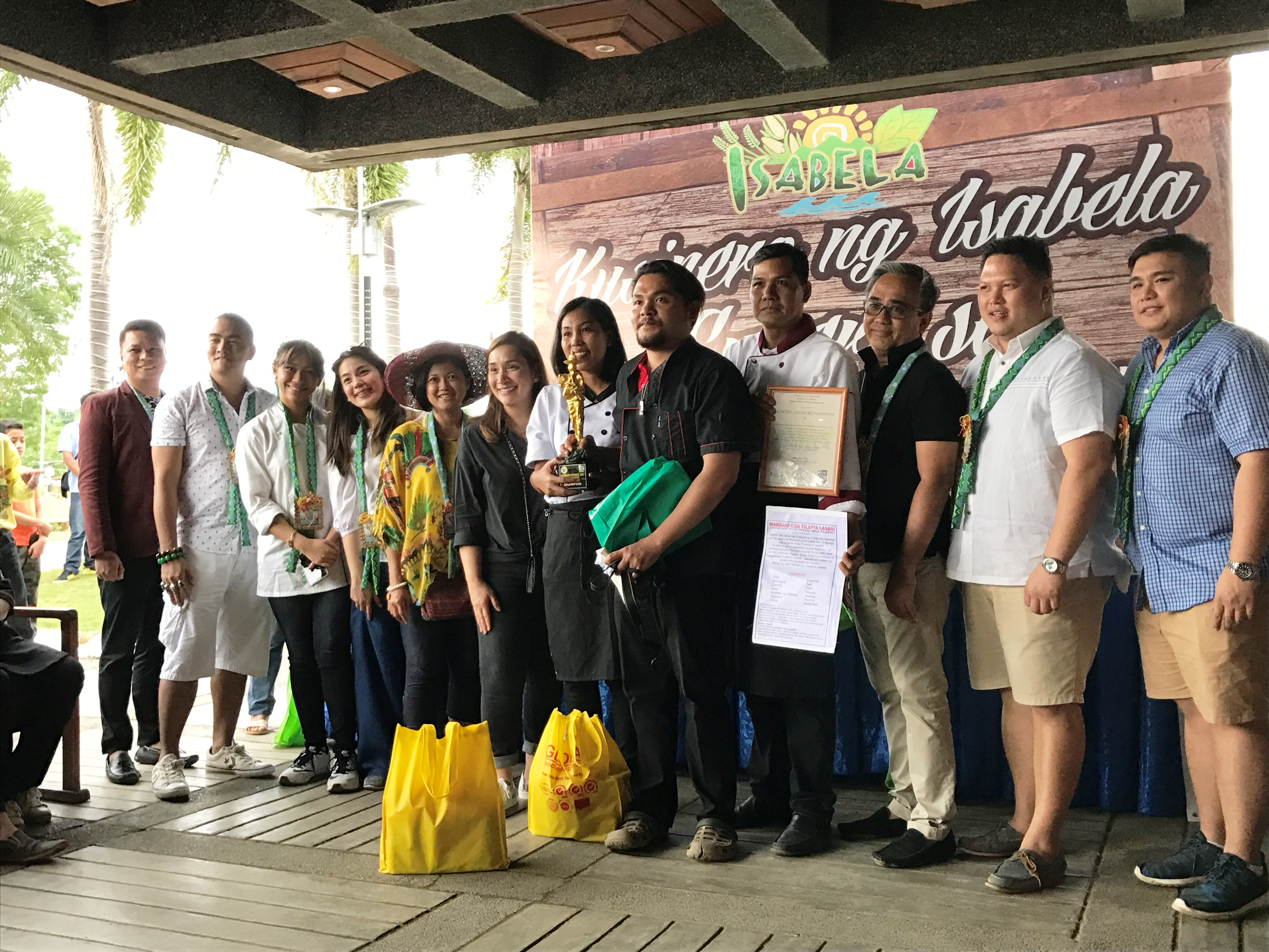 Kusinero ng Isabela Expert sa Inabraw grand winner from municipality of Tumauini