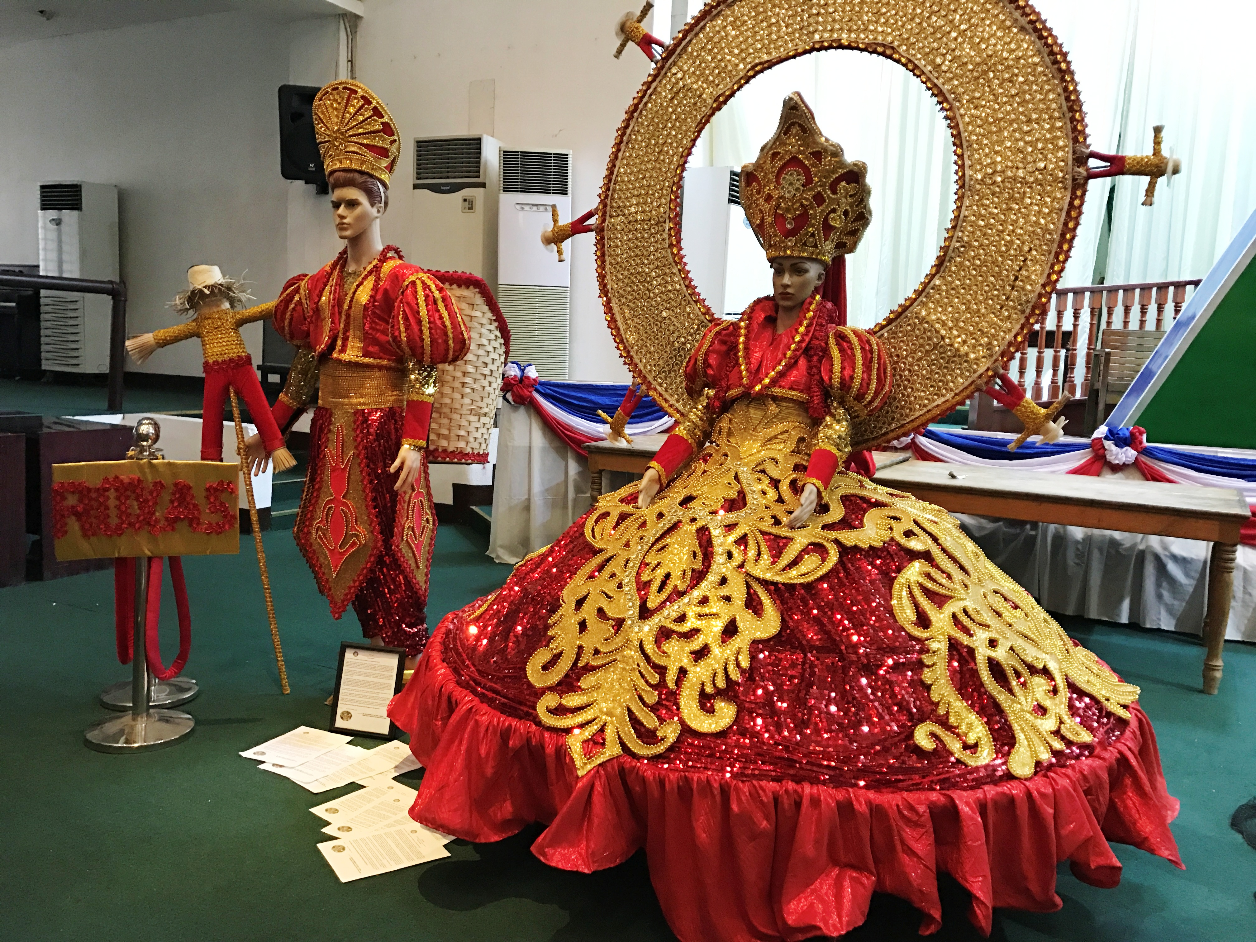 Festival Best King & Queen Costume Winner, Municipality of Roxas