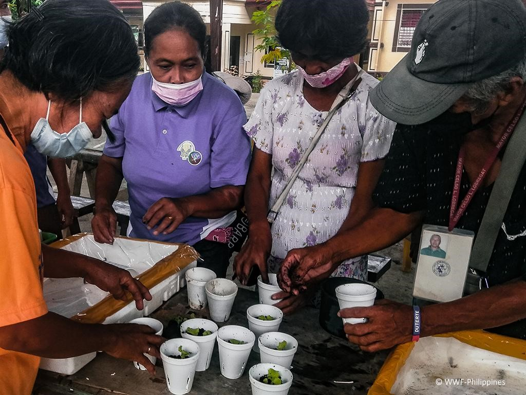 WWF-Philippines, BPI Foundation use hybrid learning to run livelihood workshops with farmers
