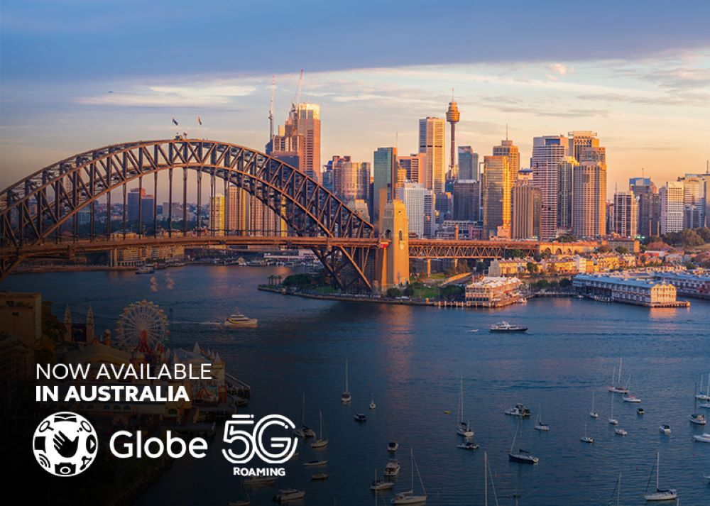 Globe widens global 5G coverage with Australia and Indonesia